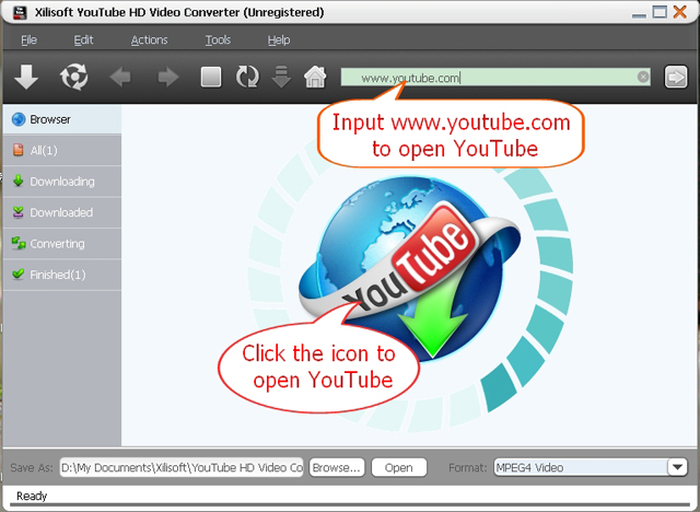 YouTube HD Video Converter for Galaxy Nexus main