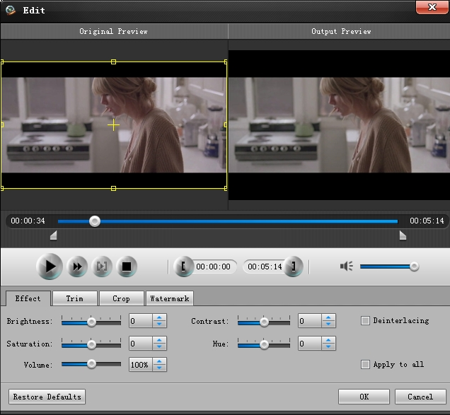 Video Converter for Iconia Tab A200 edit