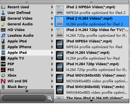 AVI to iPad 3 Video Converter Profile