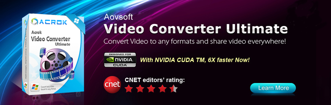 Convert Blu-ray/DVD and HD Video via Video Converter Ultimate