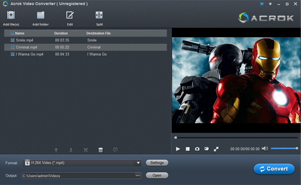 Upload GoPro Hero3 MP4 video to YouTube