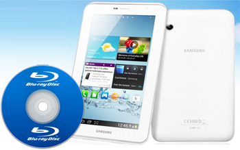 How to watch Blu-ray on Galaxy Tab 3?