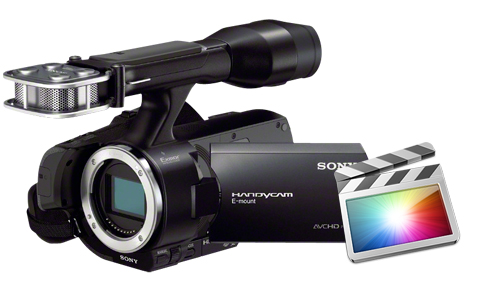 import and edit Sony NEX-VG30 AVCHD in FCP