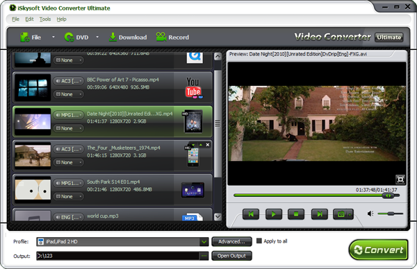 WTV Video Converter-Convert WTV format to MP4, WMV, AVI, MKV, FLV