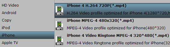 Convert MKV to iPhone best video format